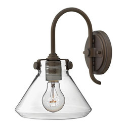 Hinkley Lighting - Hinkley Lighting HK-3176OZ Congress Traditional Wall Sconce - Congress is a traditional design that combines both hip and historical elements. This chic retro glass, mix and match collection comes in different shapes, colors and materials and is the perfect vintage accent to any decor.