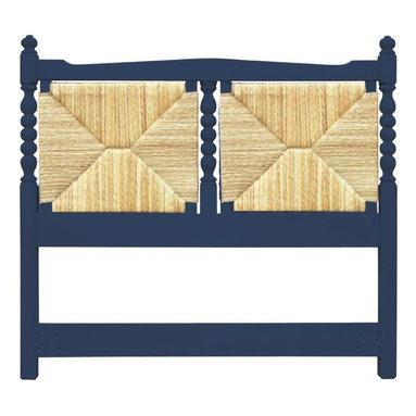 Trade Winds - New Trade Winds Queen Bed Blue Painted - Product Details