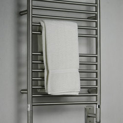 Amba - Amba Jeeves ES - Amba Jeeves Towel Warmer Model E Straight 304 Stainless Steel Towel Warmer - ES