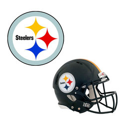 Brewster Home Fashions - NFL Pittsburgh Steelers Wall Graphics 4pc Teammate Stickers - FEATURES: