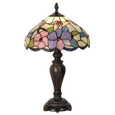 Peony Butterfly Table Lamp - Dale Tiffany on Joss and Main