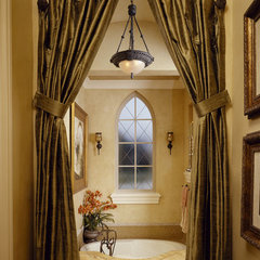 mediterranean bathroom by The Fechtel Company