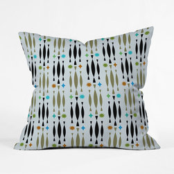 Bebop Pillow Cover - Add retro flair to your sofa or bedding without redoing the whole room. This pillow cover channels some funky mid-century patterns for a splash of fun.
