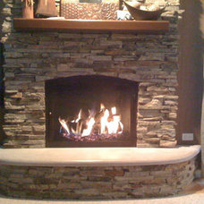 Modern Fireplaces by Northwest Metalcraft