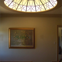 Greco Stained Glass Dome - Greco Stained Glass Dome by Ellenburg & Shaffer
