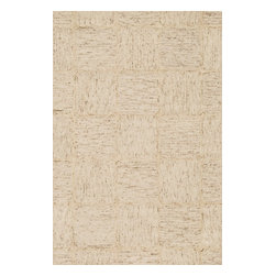 """Loloi Rugs - Loloi Rugs Persie Collection - Dune, 5' x 7'-6"""" - Hand-tufted in India, the Persie Collection adds the captivating element of texture your room has been missing through a brilliant fusion of looped yarn and cut pile. To counterbalance the attention grabbing texture, its subtle tonal colors ensure seamless integration with virtually any decor. What's more, Persie's ample New Zealand and regular wool blend pile feels heavenly underfoot, so you get the best of both style and substance."""