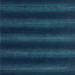 "Loloi Rugs - Loloi Rugs Boca Collection - Blue/Lt. Blue, 5'-0"" x 7'-6"" - Set a graphically charged mood outdoors with The Boca collection. It is hooked in China of 100% polypropylene allowing for easy care indoors or out. Boca illuminates as fine lines blend and combine into electrifying geometric patterns. Add the eccentric with Boca as it establishes an energetic base for any living space."