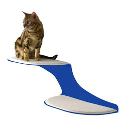 The Refined Feline - Refined Feline Cat Clouds Cat Shelf - Blue - CLOUD-BL-L - Shop for Towers and Houses and Accessories from Hayneedle.com! Give your cats a spot to rest that s as unique as they are. The Refined Feline Cat Clouds Cat Shelf creates a fun opportunity for your furry friends to perch and observe. It s made from solid metal for durability and features soft pads covered with faux sheepskin fabric for cushioning. Your cat will love this dedicated shelf and you ll love that it s easy to install! Each shelf can support up to 70 pounds so several cats can climb at the same time.