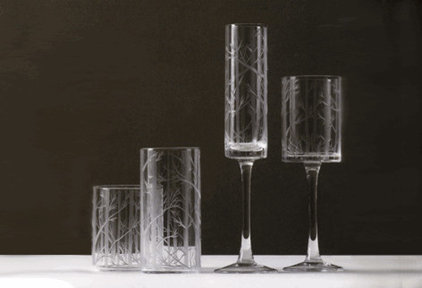 modern everyday glassware by Greener Grass Design