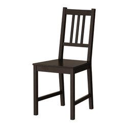 IKEA of Sweden - STEFAN Chair - Chair, brown-black