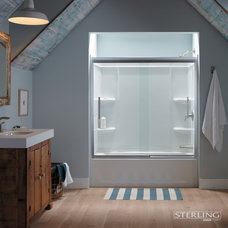 Traditional Bathroom by Sterling Plumbing