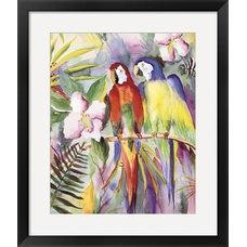Tropical Fine Art Prints by D. Tate Interiors/Artistic Finds, LLC
