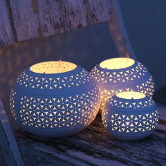 contemporary candles and candle holders by Greenheart