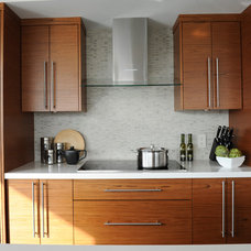 Contemporary Kitchen by Enviable Designs Inc.
