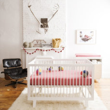 Eclectic Nursery by Lisa Riva Art + Interiors