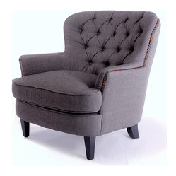 Watson Royal Vintage Design Upholstered Armchair