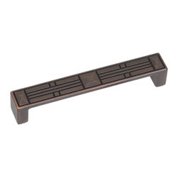 "GlideRite Hardware - GlideRite 5"" CC Craftsman Series Cabinet Pulls, Oil Rubbed Bronze - Update your kitchen cabinets or bathroom vanities with these beautiful Craftsman Series cabinet pulls. These cabinet pulls come in a pack of 10 and include installation screws. These heavy duty pulls will add a unique and elegant look to your kitchen or bathroom cabinets."