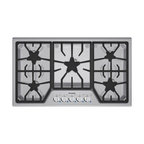 "Thermador Masterpiece Series 36"" Gas Cooktop, Stainless Steel 