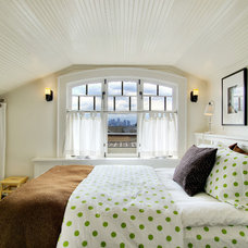 Eclectic Bedroom by J.A.S. Design-Build