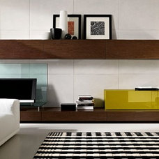 Contemporary Media Storage by Dayoris Custom Woodwork