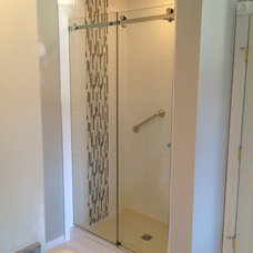Contemporary Showers by Alto Glass