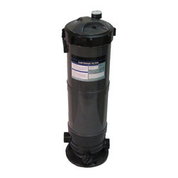 SUNSOLAR - Cartridge Filter System With Pressure Gauge For Swimming Pools 120Sf - This filter system has set the standard for quality, superior flow rates, and unmatched water clarity. This filter system has a built in pressure gauge and air relief valve. The rugged filter tank is constructed of tough weather resistant and corrosion proof polymer plastic. Inside, our extra large filter elements produce water quality superior to sand filters without backwashing. Large 1inch drain plug to ensure easy clean up and quick water drainage. They require a minimum of cleaning, insuring hassle free operation.