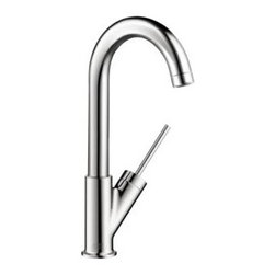 Axor - Hansgrohe - Axor Starck Bar Kitchen Faucet - 10826001 - Chrome - The aesthetics of minimalism. In today's hectic world, people yearn more and more for tranquility and simplicity. The Axor Starck bathroom collection focuses on the basics, the enjoyment of water. The principle of reduction can be seen in the basic shapes and clear function. There are no distractions. The result: A timeless bathroom collection that will never go out of fashion. Like a fountain that springs up from the depths of the earth, we can draw from Axor Starck and refresh our bodies and minds in a bathroom that offers tranquility and relaxation.