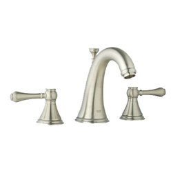 Grohe - Grohe 20801EN0 Polished Nickel Geneva Two Handle Widespread Lav Faucet - Grohe 20801En0 Polished Nickel Geneva two handle Widespread Lav Faucet