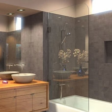 Modern Showers by Dulles Glass and Mirror