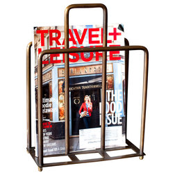 Traditional Magazine Racks by BoBo Intriguing Objects