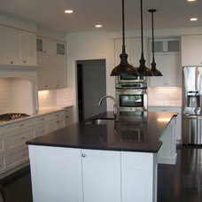 Modern Kitchen Cabinets by North Country Millworks, L.L.C.