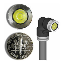 MINIMIS - WORLD'S SMALLEST LANDSCAPE LIGHT: 1ANGLE - Tiny in design, huge in power, this landscape light is the perfect seen-but-hidden illumination for your sophisticated room decor. No bigger than a dime, you'll get more than your money's worth of light, and you can highlight those pieces in your room that deserve the showcase. This light is angled for those tricky spots.