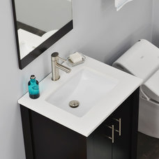 Contemporary Bathroom Vanities And Sink Consoles by BATHROOM PLACE