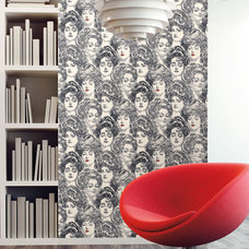 Eclectic Wallpaper by American Blinds Wallpaper and More