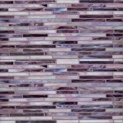 Gigi's Groovy Stixx Glass Mosaic Tiles - Alys Edwards Gigi's Groovy Stixx Glass Mosaic Tiles at Mission Stone & Tile in Nashville, TN