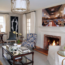 Traditional Living Room by Jenkins Baer Associates