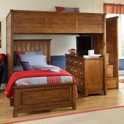 Elite Logan County Full Loft Bed
