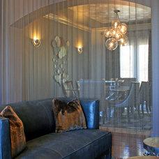 Contemporary Dining Room by Mussman Design Associates