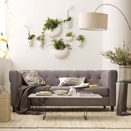 contemporary sofas by West Elm
