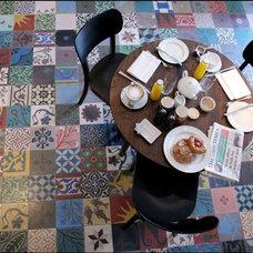 Mediterranean Dining Room by www.LUXURYSTYLE.es