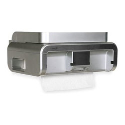Cleancut - CLEANCut Touchless Paper Towel Dispenser in Stainless Steel - It doesn't matter what paper towel you buy, the CLEANCut is designed to work with any brand. Unlike other automatic dispensers, there is no need to wave back and forth in front of a sensor.