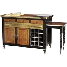 traditional kitchen islands and kitchen carts by French Heritage