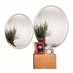 Alno Inc. - Alno Creations Oval - Standard Bevel Mirror 9567-202 - Alno Creations Oval - Standard Bevel Mirror 9567-202