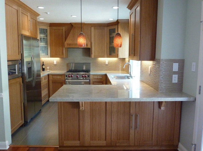 modern kitchen lighting and cabinet lighting by Artisan Crafted