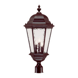 "Acclaim Lighting - Acclaim Lighting 5527 Telfair 3 Light 27"" Height Post Light - Acclaim Lighting 5527 Telfair Three Light 27"" Height Post LightThis grand post lantern from the Telfair Collection will add a delightful traditional look to your exterior d�cor.Acclaim Lighting 5527 Features:"