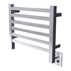 Amba - Amba Quadro Q-2016 Series Collection Towel Warmer - Dual-purpose radiator functions as towel warmer and space heater