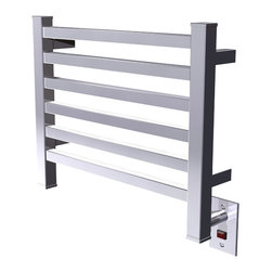 Amba - Amba Quadro Q-2016 Series Collection Towel Warmer - Dual-purpose radiator functions as towel warmer and space heater