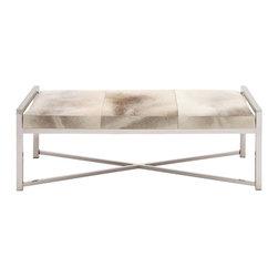 Bogart Hide Bench - Living Spaces