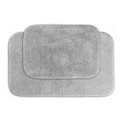 2 Piece Allure Bath Rug Set - Every room needs a little luxury, and the 2 Piece Allure Bath Rug Set will make your bath more beautiful. This super soft bath set is available in a variety of gorgeous colors, perfect for any bathroom. The colorfast design and ultra durable construction will keep your bath beautiful for years.About Garland SalesEstablished in 1974, Garland Sales, Inc. has grown as a leading manufacturer and supplier of a wide range of fashionable, tufted area rugs and decorator bath rugs. Operating in the heart of the carpet manufacturing industry in Dalton, GA, Garland Sales, Inc. continues to expand its product line through innovative product development and milestone merchandising techniques. Offered in a wide array of yarns, patterns, colors, weights, and backings, their products are sought after throughout the country. The colorfast designs, quality construction, and lasting beauty of a Garland Sales rug is a look and feel you'll love in your bathroom for years.