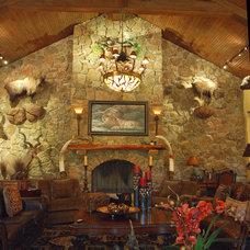 Traditional Living Room by Stadler Custom Homes